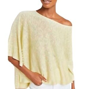 Anthropologie Alicia Chartreuse Shimmer Knit NWT!!